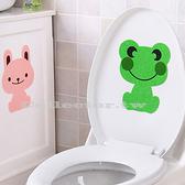 卡通造型馬桶除臭貼 浴室除臭貼 加厚毛氈除臭貼 消除臭味