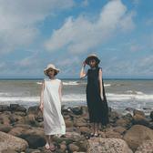 Queen Shop【01085011】日系感側綁帶棉麻洋裝 兩色售*現+預*