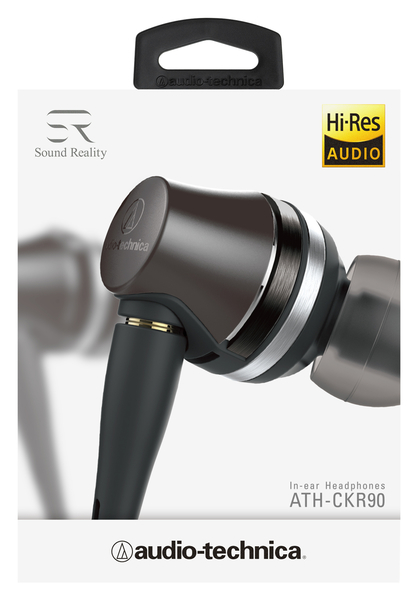 【台中平價鋪】全新 鐵三角 ATH-CKR90 可拆卸式入耳式耳機 台灣鐵三角公司貨