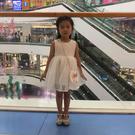 時尚可愛寶寶紗裙洋裝 白色蓬蓬裙18 +可愛小包包