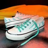 帆布鞋2019春季新款1970s小臟橘高筒帆布鞋男韓版潮鞋撕裂百搭男鞋子聖誕交換禮物
