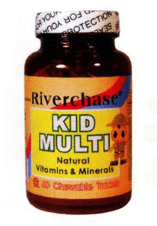 《自然醫學》天然兒童綜合維他命
