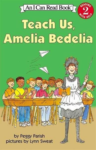 (二手書)An I Can Read Book Level 2: Teach Us, Amelia Bedelia