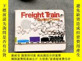二手書博民逛書店Freight罕見Train Board Book (Caldecott Collection)Y367471