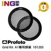 Profoto Grid Kit A1專用 蜂巢組 (101205) 佑晟公司貨 蜂巢罩 10度 20度