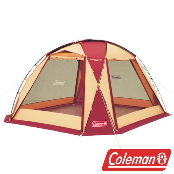 Coleman 圓頂網屋/380 勃根地 帳篷 客廳帳 天幕帳 露營 CM27291