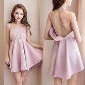 正韓洋裝2018夏季新款韓版時尚性感甜美氣質露肩背 快速出貨 全館八折