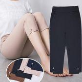七分褲女夏季薄款中年媽媽褲子短褲彈力大碼