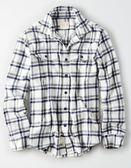 (BJGO) AMERICAN EAGLE_男裝_AE SERIOUSLY SOFT FLANNEL SHIRT美國AE法蘭絨長袖襯衫 最新代購