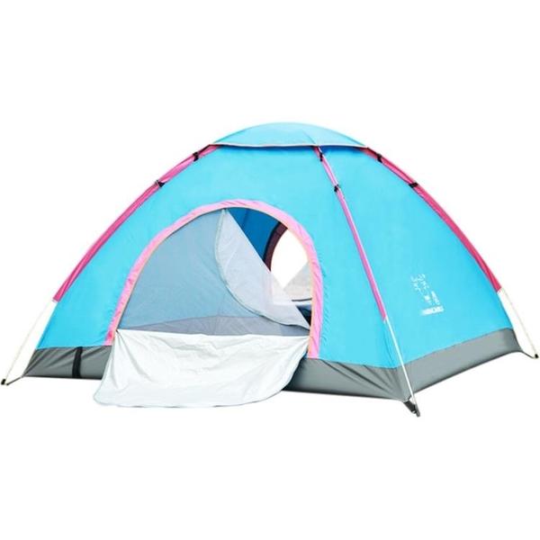 帳篷戶外3-4人全自動野營加厚防雨2雙人兒童室內露營情侶免搭速開 茱莉亞