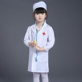 兒童表演服裝 小醫生護士服女童演出服 cosplay