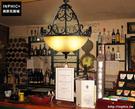 INPHIC- 美式復古創意餐廳陽臺樹枝圓形吊燈個性客廳臥室鐵藝玻璃燈_S197C