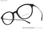 GIORGIO ARMANI 光學眼鏡 GA7110F 5042 (霧黑) 經典金屬質感款 # 金橘眼鏡