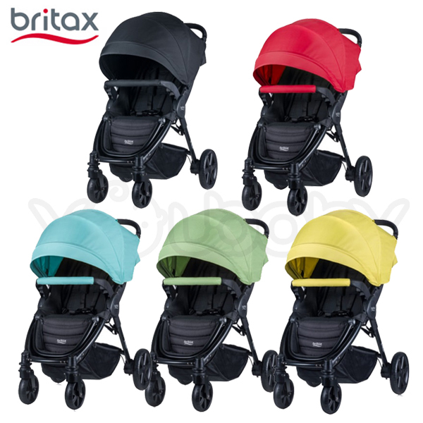Britax B-NEST 旗艦單手秒收手推車 /四輪嬰兒推車