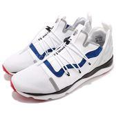 Reebok 休閒鞋 Furylite X MP 白 藍 黑 襪套式 抽繩鞋帶設計 運動鞋 男鞋【PUMP306】 CM9945