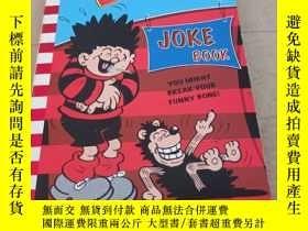 二手書博民逛書店Dennis罕見Joke Book (Beano Joke Boo丹尼斯笑話書Y283241