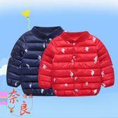 兒童羽絨棉服男童女童中小童棉襖棉衣內膽冬裝外套【奈良優品】
