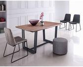 【新北大】✪ R224-4 黑爵士5尺餐桌(不含餐椅)-18購
