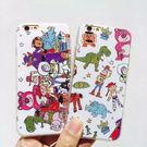 【紅荳屋】卡通玩具總動員浮雕iPhone6S/6PLUS 蘋果iphone7/7plus/i7軟殼手機殼