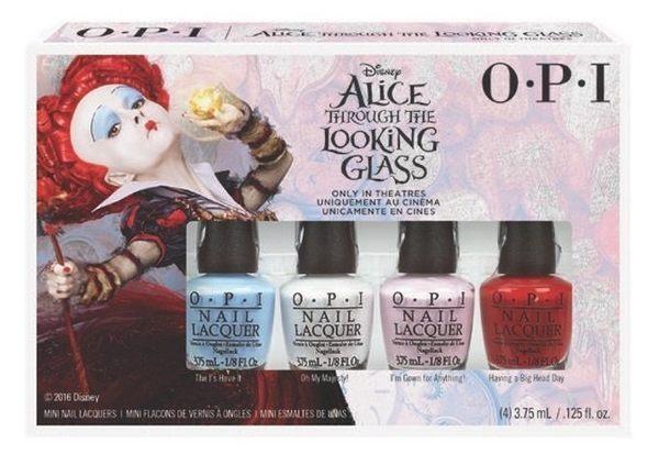 OPI Alice 愛麗絲魔境夢遊系列 魔境夢遊迷你組 4瓶裝 2016春夏款 2016年02製造【彤彤小舖】