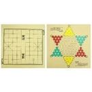 《享亮商城》O-H4 棋盤-象棋+跳棋(彩色) 我愛中華