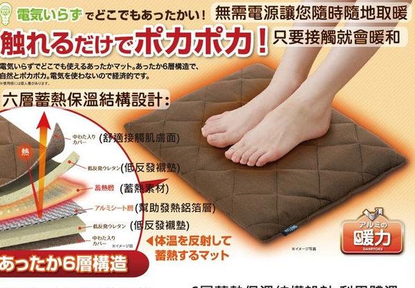 Nizu 日本進口 ECO熱力低反發保暖墊/觸感柔軟、保暖舒適