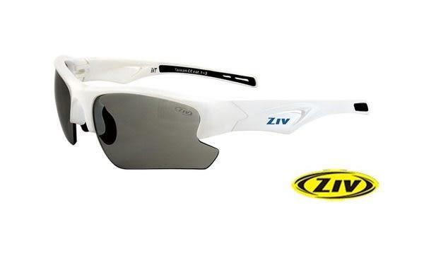 ZIV HIT 運動眼鏡 B102018 白/F45變色片(26)防撞PC變色片 台灣優視