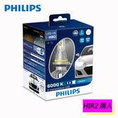 PHILIPS 飛利浦 超晶亮 LED HIR2 頭燈(兩入)HIR2