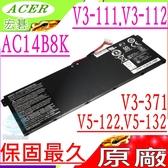 ACER 電池(原廠)- AC14B8K,V3-111P,1V3-111,V3-371-30,R3-131T,R3-471,R5-471T,R7-371T,R14,V5-122P,V5-122