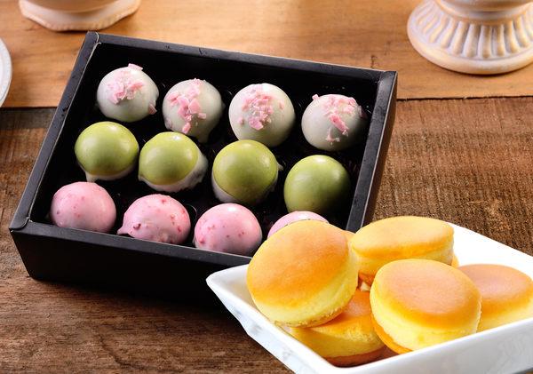 杏芳 原味乳酪球一盒+繽紛脆皮布朗尼一盒 超值禮盒組