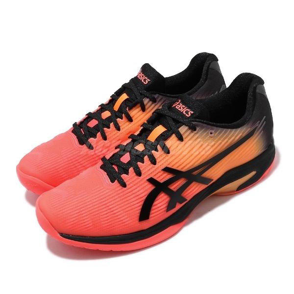 Asics 網球鞋 Solution Speed FF L.E. 摩登東京 紅 橘 黑 男鞋 【ACS】 1041A152700