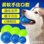 狗狗玩具耐咬發聲金毛寵物泰迪磨牙幼犬小型大型犬的用品訓練球 QG5849『樂愛居家館』