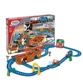 新年禮物 托馬斯電動小火車系列之迷失寶藏航海軌道套裝CDV11 WD