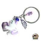 【收藏天地】台灣紀念品*貓的祈願鑰匙圈-紫(夜光)∕吊飾 掛飾 包包 配件 御守 汽車 機車