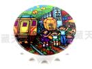 【收藏天地】台灣紀念品*開瓶器冰箱貼-十分幸福/小物 送禮 文創 風景 觀光  禮品
