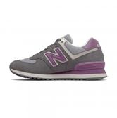 New Balance WOMEN LIFESTYLE 女款灰紫經典復刻鞋-NO.WL574LDB