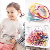[全館5折] 韓國 兒童 乖乖女 頭繩 5個裝 彩色 塑料扣 小髮圈 髮飾