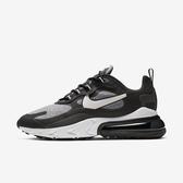 Nike Air Max 270 React [AO4971-001] 男鞋 運動 休閒 氣墊 避震 舒適 穿搭 黑灰