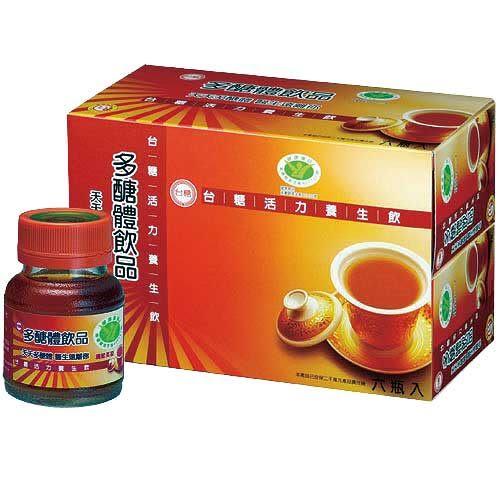 【台糖生技】活力養生飲 x24瓶(6瓶/盒) 多醣體飲品