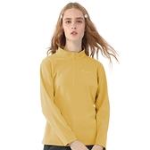 【TAKAKA】女 黃金絨立領保暖衣『檸檬黃』Z52253 戶外 休閒 運動 露營 上衣 吸濕排汗 透氣 長袖