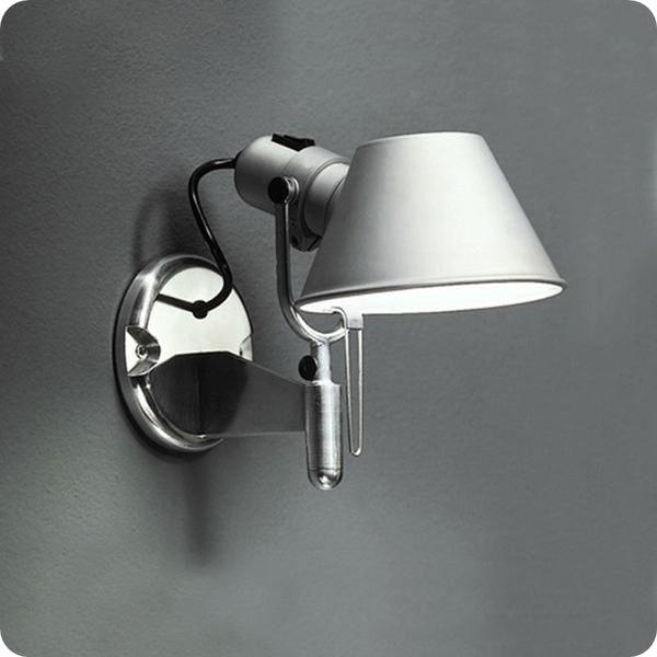 360度可調壁燈─高25寬23 cm─E27 X 1【雅典娜家飾】AGK201可調角度,銀黑兩色可選,燈罩360度轉動