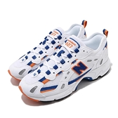 New Balance 休閒鞋 827 白 藍 橘 老爹鞋 男鞋 女鞋 情侶鞋 NB 【ACS】 ML827AAAD