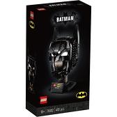 LEGO樂高 DC超級英雄系列Batman Cowl 76182 玩具反斗城