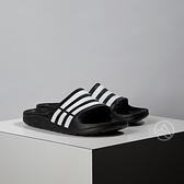 Adidas Duramo Slide 男女款 黑色 拖鞋 G15890