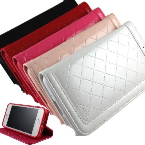 KooPin Apple iPhone 5 /5S 隱磁系列 手提式菱格包