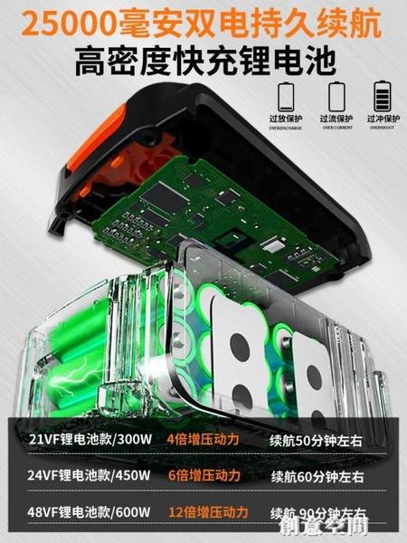 無線洗車機家用便攜充電式水泵車用高壓水槍鋰電池大功率清洗神器 NMS創意新品