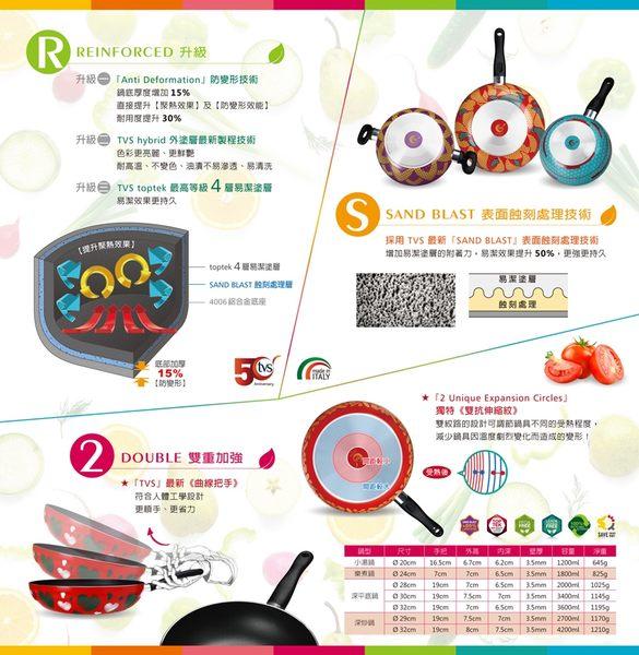 『義廚寶』菲麗塔系列_29cm深炒鍋 [FD06熱帶鳳梨]~為您的料理上色【單鍋】