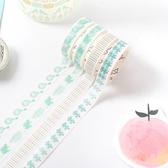 【BlueCat】萌萌動物系列盒裝和紙膠帶 (10入裝)