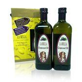 意大利 特級純葡萄籽油【禮盒2入】(每瓶1000ml) - LA BELLA 樂貝納