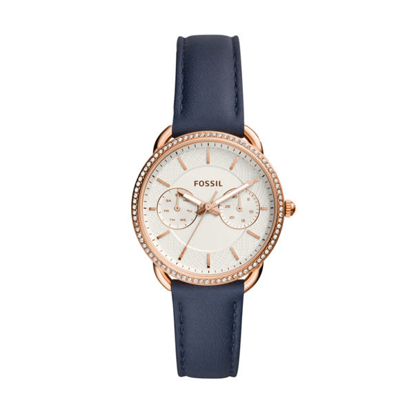 FOSSIL (ES4394) Tailor 雙眼  玫瑰金/34mm 女錶